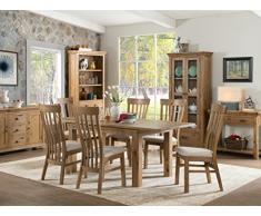French Oak grande buffet Hutch (base e top) – francese rovere rustico grande credenza e buffet anticata – French Oak Furniture – sala da pranzo – salotto