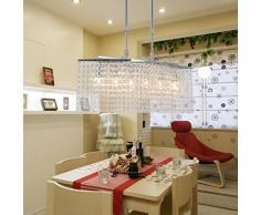 OOFAY LIGHT® Lampadari di cristallo lampadario soggiorno camera da letto sei lampadari di cristallo dell'alta società ed eleganti , il ristorante lampadario