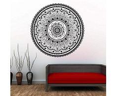 Mandala Modello Indiano Adesivo Decorazioni Per La Casa Yoga Adesivo Murale Carta Da Parati Mobile Decorazioni Per La Casa In Stile Moderno 59X59Cm