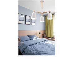 Cemento soggiorno camera da letto ristorante lampadario in Legno Bianco Nero (Luci LED, luce calda, luce bianca, Lampadario, illuminazione interna, illuminazione esterna, lampade da parete)