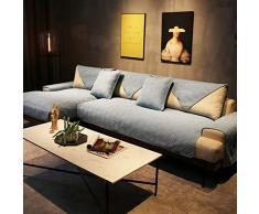 JKL J-Cuscino Reversibile Sofa Cover, Trapuntato Couch Copertura Rettangolare Mobili Protector Fodera for Gli Animali Domestici Antiscivolo copridivani Cuscino