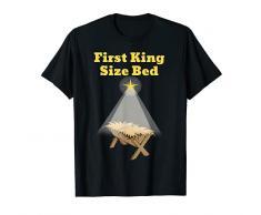 Primo Letto King Size Natale Maglietta