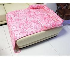 AnGe Letto di lusso lavabile facile da pulire Letto / Cat Fold Out Letto con Sofa Protector , pink , s