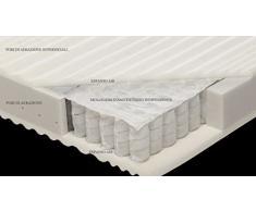 Materasso Molle indipendenti mod. Morfeo 3D matrimoniale 160x190 a sette zone di portanza differenziata, sfoderabile e lavabile.