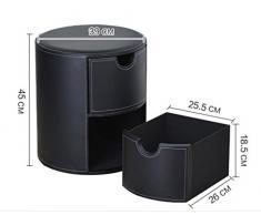 LU Semplice pelle cassetto-stile creativo di stoccaggio sgabello per i pattini banco comodino ( Colore : C )