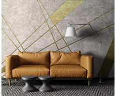 Carta Da Parati Adesiva Muro Quadri Moderni Soggiorno Xxl Poster 3D Damascata Astratta Geometrica Linea DOro Carta Da Parati Murale Impermeabile Tela Camera Da Letto Di Lusso Decorazioni Per La Casa