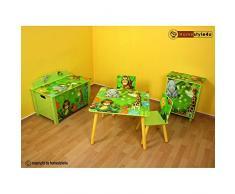 Bambini comò armadio bambini bambini Regal giungla + Cassetti