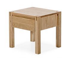 Marchio Amazon - Alkove - Hayes - Comodino in legno massello, modello Tvil, quercia naturale