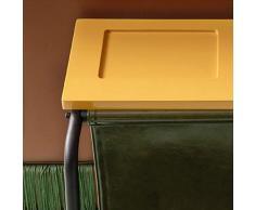 LANN Decorazione/Arte della Pelle Multi-Funzionale Nordic Designer tavolino Comodino tavolino tavolino (Colore : #2, Dimensioni : 55 * 48.2 * 550cm)