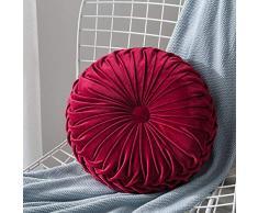 Mississ Cuscino Rotondo, Cuscino da Pavimento Tatami Cuscino da Meditazione Cuscino per Cuscino Cuscino per Finestra Interna Divano Letto Cuscino per Sedile futon