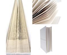 White Cotton Cards - Album per ricordi di matrimonio, motivo valletto, misura piccola