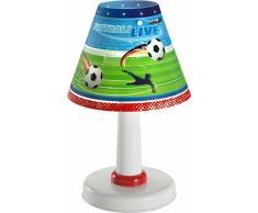 Dalber - Lampada da comodino, motivo: calcio