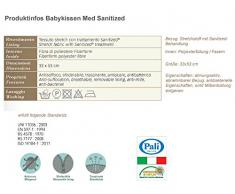 Pali 066303 Med Sanitized Guanciale in Fibra, Bianco