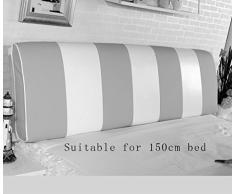 Comodino cuscino dello schienale cuscino Comodino Borsa morbida materasso matrimoniale pelle Cuscini di grandi dimensioni ( Colore : # 8 )
