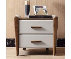 Bedside table LVZAIXI Moderno nuovo comodino cinese in pelle piccolo armadio Mini comodino di stoccaggio armadio stretto