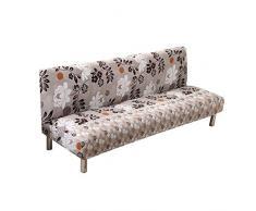 ARVIN87LYLY divano letto Slipcover elastico copridivano elasticizzato divano a posti senza braccioli cover futon cover Protector Quilted sofa spandex Modern Furniture Protector WASHABLE160 – 190 cm