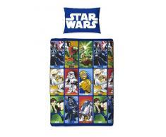 Star Wars - Set da Lettino - Guerre Stellari (Letto singolo) (Blu)