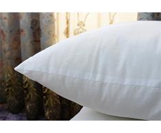 GMM® Cuscino paillettes ricamati semplice e moderno cuscino del divano cuscini comodino ambiente vita pelle-amichevole ufficio , grey