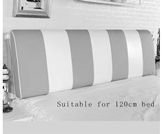 Comodino cuscino dello schienale cuscino Comodino Borsa morbida materasso matrimoniale pelle Cuscini di grandi dimensioni ( colore : # 2 )