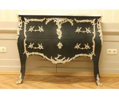 LouisXV Cassettiera Stile Barocco Antico shabbychic alkm0009sw