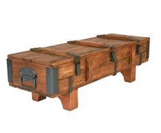 Own Design Tavolino Old Travel Cottage Piroscafo cassapanca Vintage retrò in Legno