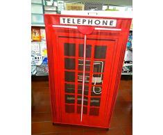 Armadio guardaroba in tessuto TNT NEW YORK CITY Cm 87x46xH 156