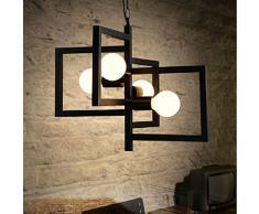 ... di ferro battuto. / personalità Creative lampadario Arte lampadario