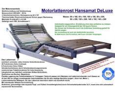 Hansamat - Rete elettrica a doghe di legno DeLuxe, 100 x 200 cm