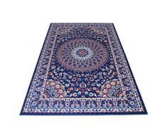 WEBTAPPETI Tappeto stile Persiano/orientale Tappeto arredo soggiorno e camera ROYAL SHIRAZ 2082-BLUE 140x210