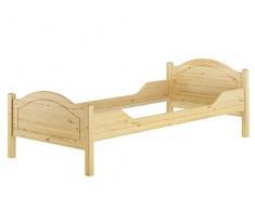 Erst-Holz Telaio Letto in Legno Pino massello Eco 90x200 Anche per Adulti Senza doghe 60.30-09oR