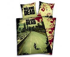 Herding, Set Copripiumino singolo e federa The Walking Dead, Multicolore (Mehrfarbig), 135 cm x 200 cm