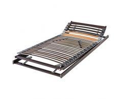 f.a.n. - Rete a doghe in legno elastico, flessibile, non regolabile, 80 x 200 cm