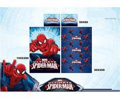 comleto letto spiderman 1 piazza
