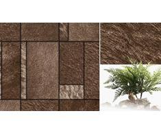 WCZ Carta da parati del fondo della TV del sofà del sofà minimalista moderno del comodino di cuoio del fodero di cuoio,A11,0.53m * 10m