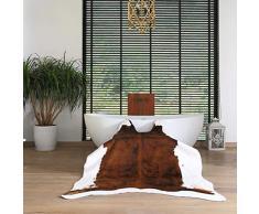 Tappeti Domestica Similpelle Soggiorno Bambini Comodino 140 * 200cm Regali per la casa (Color : Brown, Size : 140 * 200cm)