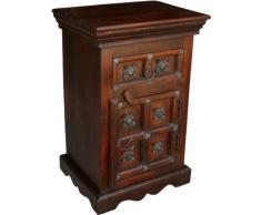 Guru-Shop Cabinet Coloniale-side, Cassettiera, Comodino R872, 60x40x30 cm, Armadietti