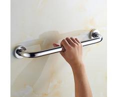 SBWYLT-Rete di sicurezza bagno di corrimano in acciaio inox 304, afferrare il vecchio bagno maniglia, corrimano di servizi igienici per disabili , 80cm