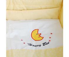 Honey Bee - Culla a dondolo, lettino e culla con rotelle insieme -- giallo -- 51365-02