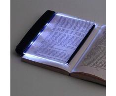 BlackSwan LED Light Wedge Eyes Protect Panel Book Lampada da lettura in brossura Visione notturna per libri Pagina staccabile