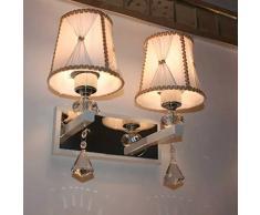 Ysddian Lampade da parete moderno minimalista Camera Da Letto letto Creative Lampade Led Tv Lampada da parete a luce panchetto di parete ed una scalinata Apparecchio di illuminazione