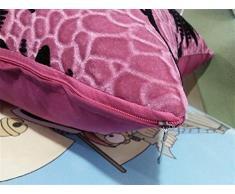 GMM® Cuscino Nordic lavabile cuscini soffici cuscini auto ufficio comodino ambientale Quartet pelle-amichevole , pink