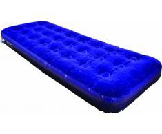 Highlander, Materasso ad aria, Blu (blau), letto singolo