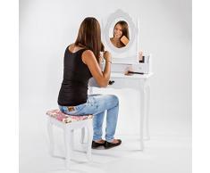 Specchiera acquista specchiere online su livingo - Toletta da camera ...