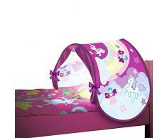 BEST DIRECT Starlyf Sleepfun Tent Tenda Pop Up Struttura Decorativa per Letto dei Bambini - Accessorio per Cameretta Bimbi in Due Colori Rosa o Blu (Rosa)