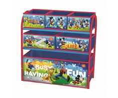 Contenitore a cassettiera per i giocattoli dei bambini, in metallo, multiuso, mobile per la cameretta dei bambini