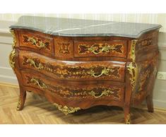 Cassettiera barocco grande, Magistralmente lavorato, 4 cassetti