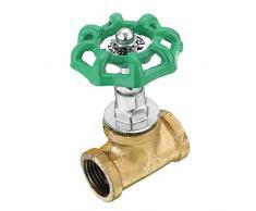 Topwa industriale vintage stile steampunk 1/5,1 cm valvola di arresto interruttore luce globo valvola interruttore per Steampunk lampade tubo di acqua da tavolo scrivania luce nuovo flash, verde