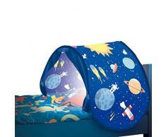 BEST DIRECT Starlyf Sleepfun Tent Tenda Pop Up Struttura Decorativa per Letto dei Bambini - Accessorio per Cameretta Bimbi in Due Colori Rosa o Blu (Blu)