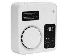 YCD Generatore di ozono ionizzatore purificatore daria per la casa della camera da letto e del WC dellufficio Kichen (bianca)