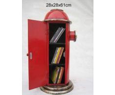 """'Retro Vintage armadio a """"inglese Fire idrante - Rosso"""